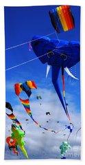 Go Fly A Kite 5 Beach Towel