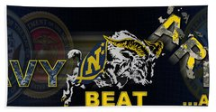 Go Navy Beat Army Beach Sheet