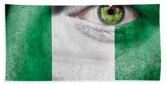 Go Nigeria Beach Towel