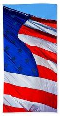 God Bless America Beach Towel