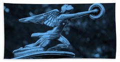 Beach Towel featuring the photograph Goddess Hood Ornament  by Patrice Zinck