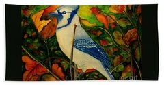 God's New Creation  Beach Towel by Hazel Holland