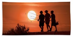 Going Fishing Beach Towel