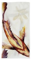 Gold Mangrove  Beach Towel