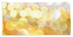 Gold On The Ceiling Beach Towel by Dazzle Zazz