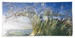 Gold Crown Beach Towel