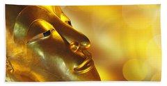 Golden Buddha Beach Towel