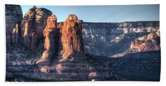 Beach Towel featuring the photograph Golden Buttes by Lynn Geoffroy