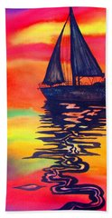 Golden Dreams Beach Towel