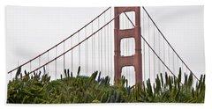 Golden Gate Bridge 1 Beach Sheet
