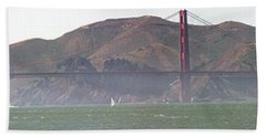 Golden Gate Bridge Panorama Beach Towel