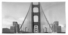 Golden Gate Bridge Preview Beach Towel