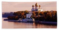 Golden Hour. Yaroslavl. Russia Beach Towel