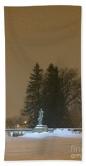 Golden Night Beach Towel