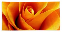 Golden Rose Beach Towel