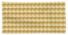 Beach Towel featuring the photograph Golden Sparkle Tone Pattern Unique Graphic V2 by Navin Joshi
