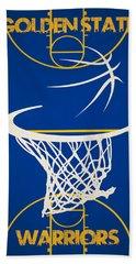 Golden State Warriors Court Beach Towel