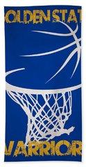 Golden State Warriors Hoop Beach Towel