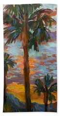 Golden Sunrise Beach Towel