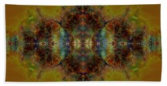 Golden Tapestry Beach Sheet