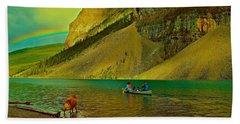 Golden Voyage Beach Sheet by Jim Hogg
