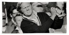 Golfer Jack William Nicklaus Born January 21 1940 Nicknamed The Golden Bear Beach Towel
