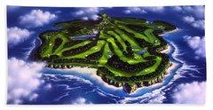 Golfer's Paradise Beach Towel