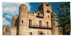 Gonder Gondar Ethiopia Royal Ethiopian Kings Castle Beach Towel