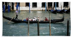 Gondola Jaunt Beach Sheet