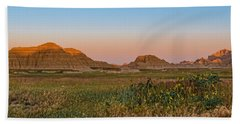 Good Morning Badlands II Beach Towel by Patti Deters