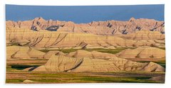 Good Morning Badlands I Beach Towel by Patti Deters