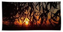 Good Morning Lake Michigan Beach Towel by Tiffany Erdman