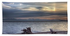 San Pareil Sunrise Beach Towel by Randy Hall