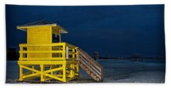 Goodnight Siesta Key Beach Towel