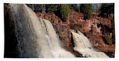 Gooseberry Falls Beach Towel by James Peterson