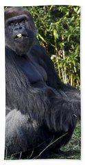 Gorillas In The Mist Beach Towel