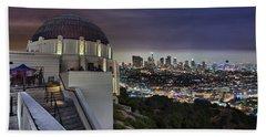 Gotham Griffith Observatory Beach Sheet