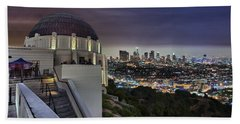 Gotham Griffith Observatory Beach Towel