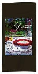 Gourmet Cover Featuring A Bowl Of Borsch Beach Towel