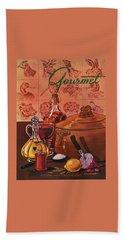 Gourmet Cover Featuring A Casserole Pot Beach Towel