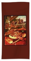 Gourmet Cover Featuring A Pot Of Stew Beach Towel