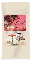 Gourmet Cover Illustration Of A Baccarat Balloon Beach Towel