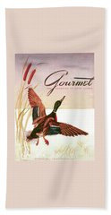 Gourmet Cover Of A Goose Beach Towel