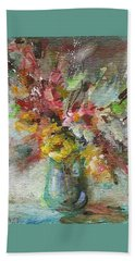 Grace And Beauty Beach Towel