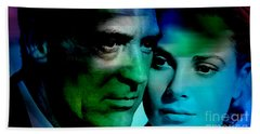 Grace Kelly And Cary Grant Beach Towel