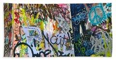 Graffiti Beach Sheet