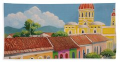 Granada Cathedral Beach Towel