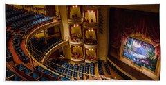 Grand 1894 Opera House - Galveston Beach Towel