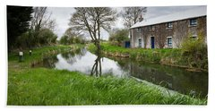 Grand Canal At Miltown Beach Towel