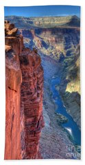 Grand Canyon Awe Inspiring Beach Towel by Bob Christopher